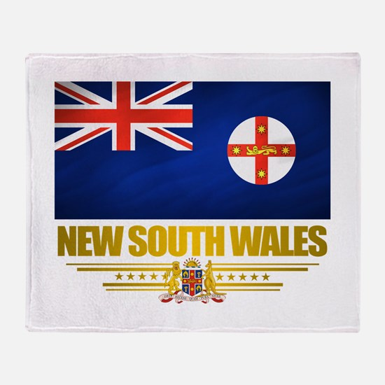 """New South Wales Pride"" Throw Blanket"