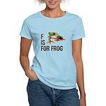 F Is For Frog Women's Light T-Shirt