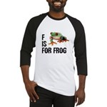 F Is For Frog Baseball Jersey