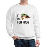F Is For Frog Sweatshirt