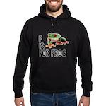 F Is For Frog Hoodie (dark)