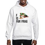 F Is For Frog Hooded Sweatshirt