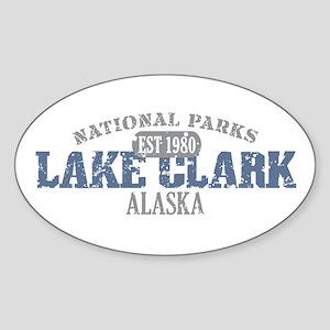 Lake Clark National Park AK Sticker (Oval)