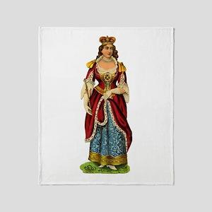 Victoria's Coronation Throw Blanket