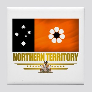 """Northern Territory Flag"" Tile Coaster"