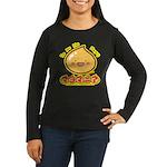 Mayopy Women's Long Sleeve Dark T-Shirt