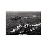 USS NEW Rectangle Magnet