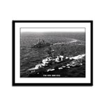 USS NEW Framed Panel Print