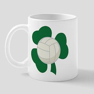 Irish Volleyball Shamrock Mug