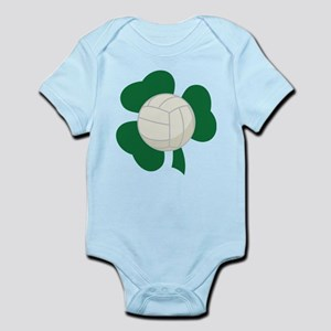 Irish Volleyball Shamrock Infant Bodysuit