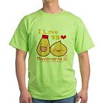 Mayo love Green T-Shirt