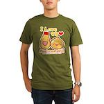 Mayo love Organic Men's T-Shirt (dark)