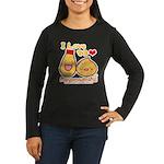 Mayo love Women's Long Sleeve Dark T-Shirt