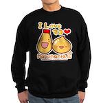 Mayo love Sweatshirt (dark)