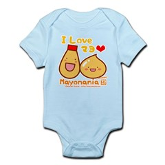 Mayo love Infant Bodysuit