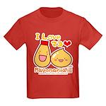 Mayo love Kids Dark T-Shirt