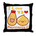 Mayo love Throw Pillow