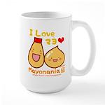 Mayo love Large Mug