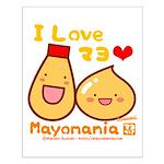 Mayo love Small Poster