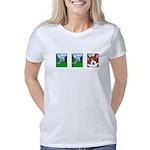 comicstrip_corgi Women's Classic T-Shirt