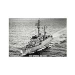 USS NEWELL Rectangle Magnet