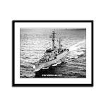 USS NEWELL Framed Panel Print