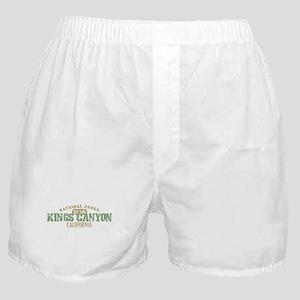 Kings Canyon National Park CA Boxer Shorts