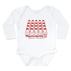 Mayota full Long Sleeve Infant Bodysuit
