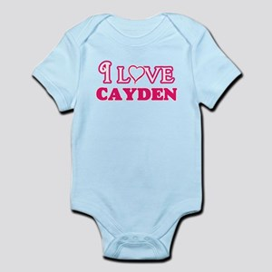 I Love Cayden Body Suit