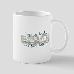Boys in Books are Better Mug