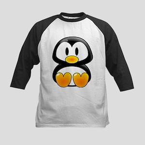 Baby Penguin Kids Baseball Jersey