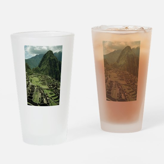 Cute Indian ruins Drinking Glass