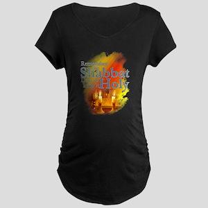 Shabbat Day: Maternity Dark T-Shirt