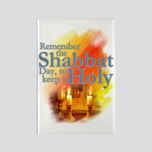 Shabbat Day: Rectangle Magnet