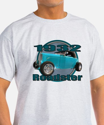 1932 Ford Roadster Sky Blue T-Shirt