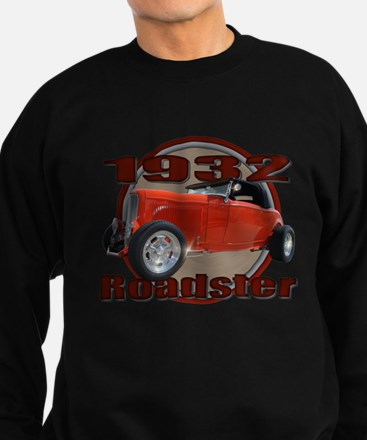 1932 Red Ford Roadster Sweatshirt (dark)