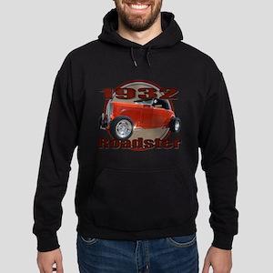 1932 Red Ford Roadster Hoodie (dark)