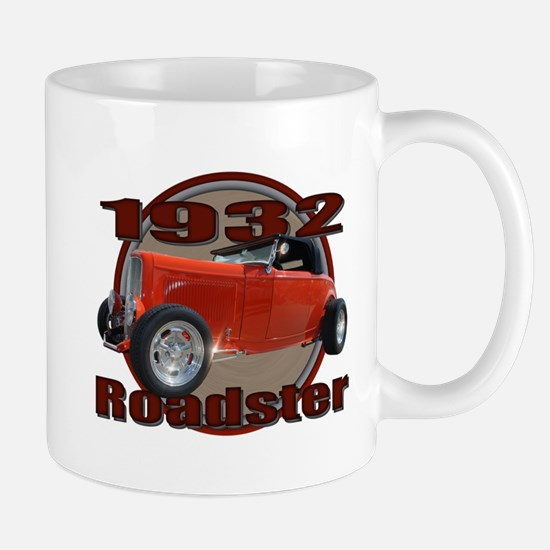 1932 Red Ford Roadster Mug