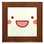 Mayopy face Framed Tile