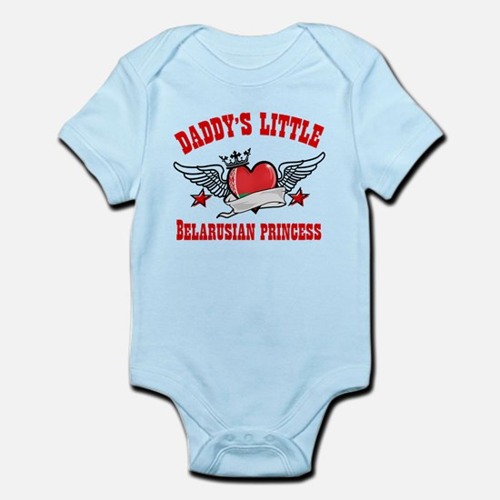 Daddy's Little Belarusian Princess Infant Bodysuit