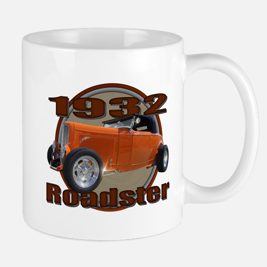 1932 Ford Roadster Orange Cra Mug