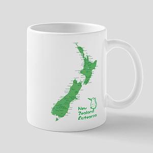 New Zealand Map Mug