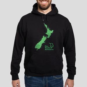 New Zealand Map Hoodie (dark)