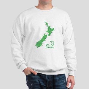 New Zealand Map Sweatshirt