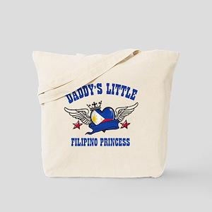 Daddy's Little Filipino Princess Tote Bag