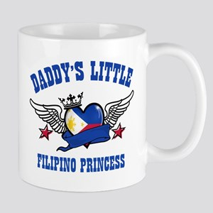 Daddy's Little Filipino Princess Mug
