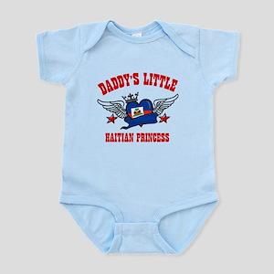 Daddy's Little Haitian Princess Infant Bodysuit