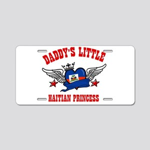 Daddy's Little Haitian Princess Aluminum License P
