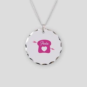 HG Peeta Necklace Circle Charm