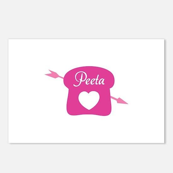 HG Peeta Postcards (Package of 8)